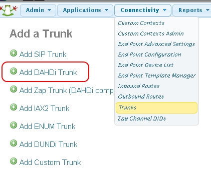 Adding a Dahdi FXO Trunk using FreePBX - TelecomWorld ca